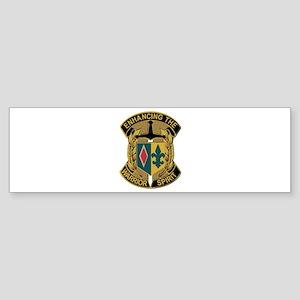 Army - DUI - 1st MEB - No Text Sticker (Bumper)