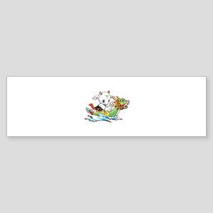 Dragon Boat Sticker (Bumper)