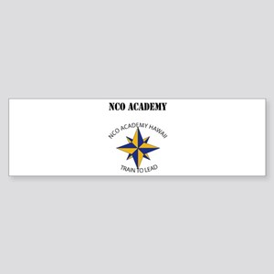 NCO Academy with Text Sticker (Bumper)