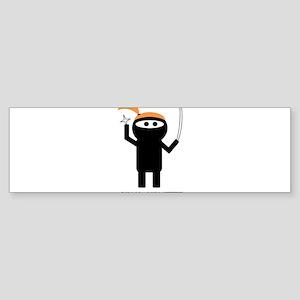 ginja ninjette Sticker (Bumper)