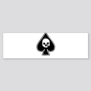 Ace of Spades Bumper Sticker