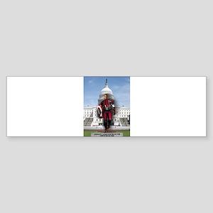 Obama Super Hero Sticker (Bumper)