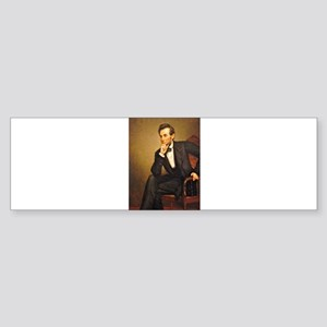 Young Abraham Lincoln Bumper Sticker