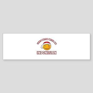 Cute Indonesian designs Sticker (Bumper)