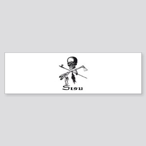 Sisu Pirate Bumper Sticker