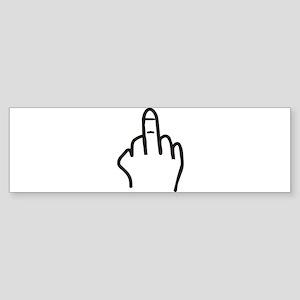 Give the finger Sticker (Bumper)