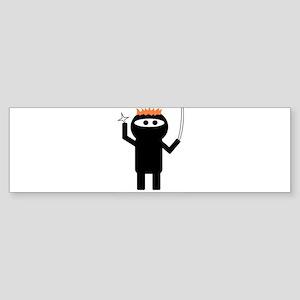 ginja ninja 1 Bumper Sticker