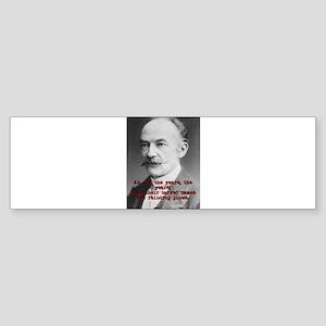 Ah No The Years - Thomas Hardy Sticker (Bumper)