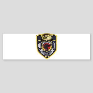 Detroit PD Narcotics Bumper Sticker
