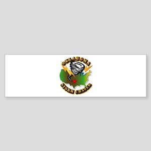 Storm Chaser - Oklahoma Sticker (Bumper)