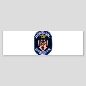 Customs K9 Officer Sticker (Bumper)