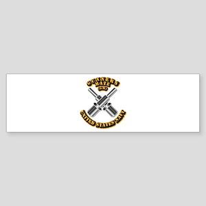 Navy - Rate - GM Sticker (Bumper)