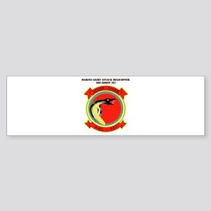Marine Lt Atk Helicopter Squadron 267 Sticker (Bum