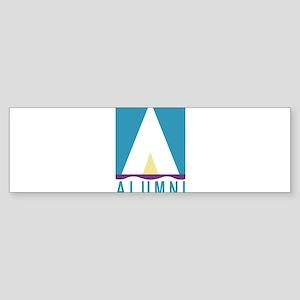 NWSA Alumni A Logo Bumper Sticker