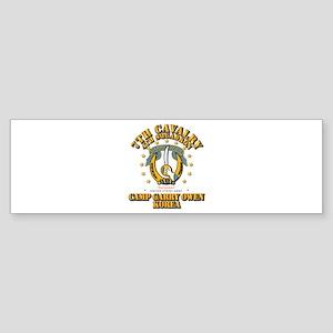 4/7 Cav - Camp Gary Owen Korea Sticker (Bumper)