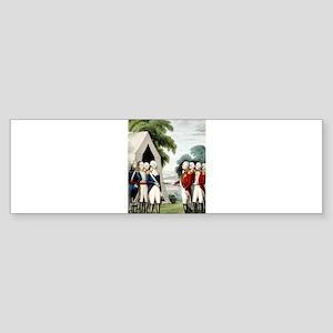 Surrender of Cornwallis - 1845 Sticker (Bumper)