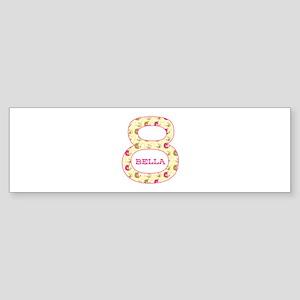 8th Birthday Personalized Sticker (Bumper)
