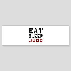 Eat Sleep Judo Sticker (Bumper)