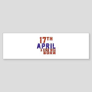 17 April A Star Was Born Sticker (Bumper)