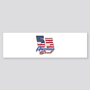 55 American Soul Birthday Designs Sticker (Bumper)