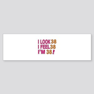 I Look 38 Sticker (Bumper)