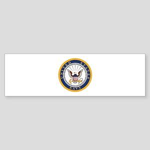 US Navy Emblem Sticker (Bumper)