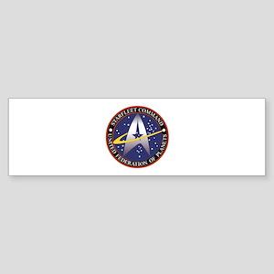 Starfleet Command logo Sticker (Bumper)