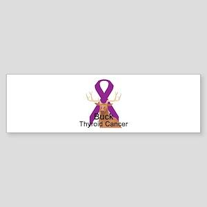 Thyroid Cancer Bumper Sticker