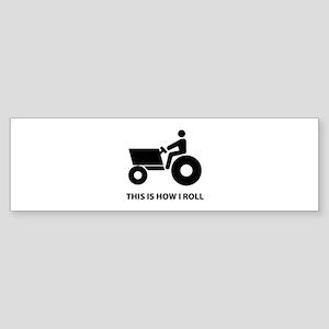 How I Roll Sticker (Bumper)