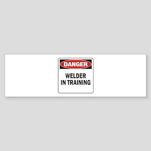 Welder Sticker (Bumper)