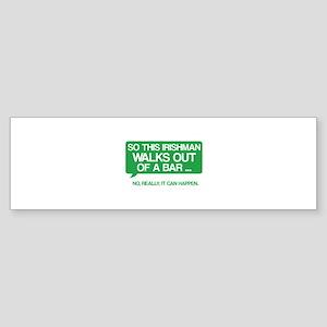Irishman Sticker (Bumper)
