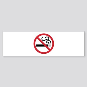 No Smoking Sticker (Bumper)
