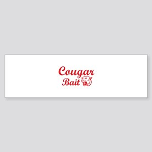 Cougar Bait Sticker (Bumper)