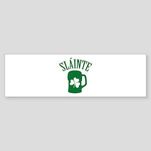 SLAINTE Sticker (Bumper)