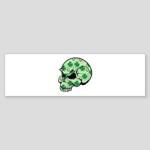 Irish Lucky Skull Sticker (Bumper)