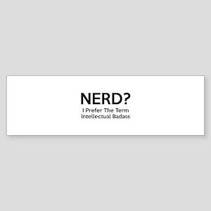 Nerd? Sticker (Bumper)