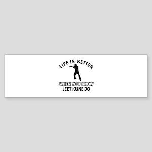 Jeet Kune Do Vector designs Sticker (Bumper)