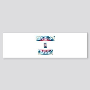 Superhero in Training Sticker (Bumper)