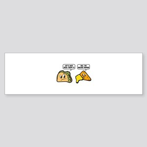 Let's Just Taco 'Bout It Sticker (Bumper)