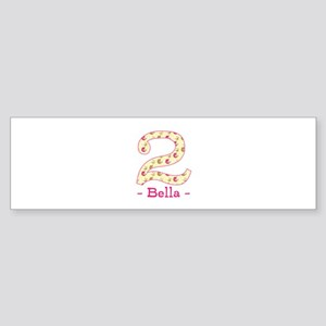 Customized Birdies 2nd Birthday Sticker (Bumper)