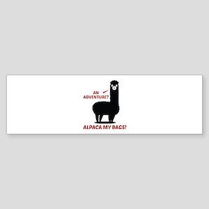 Alpaca My Bags Sticker (Bumper)