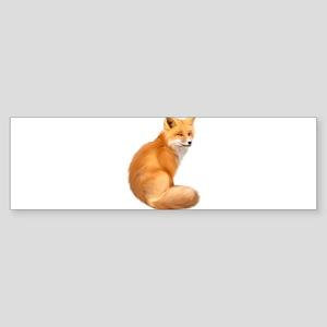 animals fox Bumper Sticker