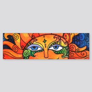 Create Art Every Day Bumper Sticker