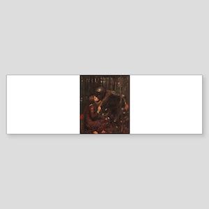 La Belle Dame Sans Merci Sticker (Bumper)