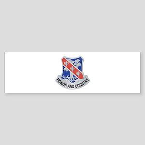 DUI - 1st Bn - 327th Infantry Regiment Sticker (Bu