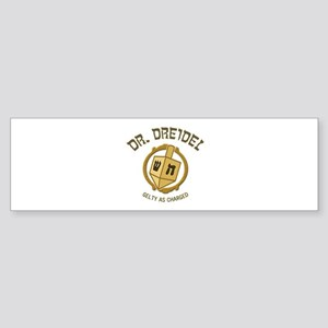 Dr. Dreidel - Bumper Sticker
