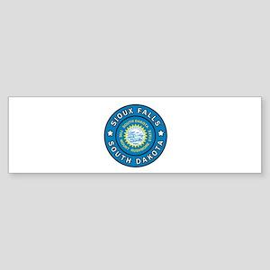 Sioux Falls South Dakota Bumper Sticker
