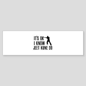 Jeet Kune Do Designs Sticker (Bumper)