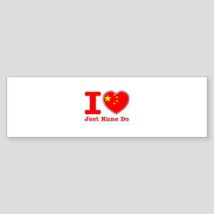 Jeet Kune Do Flag Designs Sticker (Bumper)