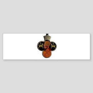 Selassie Lion Bumper Sticker